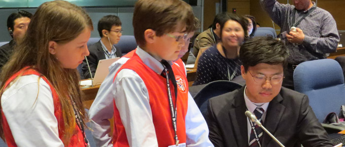 Grade 6 students invited to speak at United Nations event