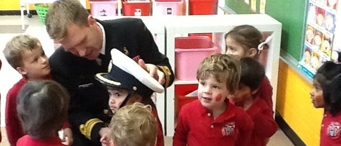 REMEMBRANCE DAY Hero at the DAYCARE