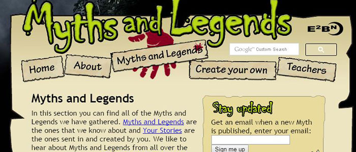 Heroes, Myths & Legends Oh MY!